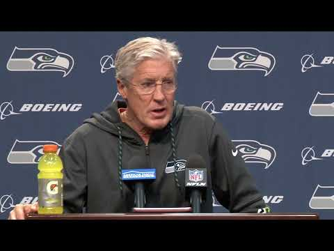 Seahawks Head Coach Pete Carroll Week 16 Monday Press Conference