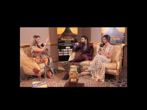 Ramleela's Ranveer Singh serenades us while Deepika Padukone stirs up trouble!!