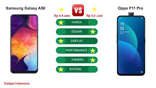 Samsung Galaxy A50 vs Oppo F11 Pro Indonesia | Mending Oppo ?