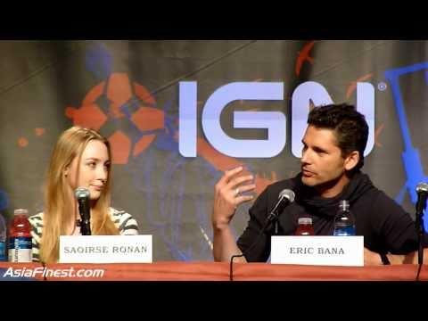 Hanna Movie Panel At New York Comic Con With Saoirse Ronan, Eric Bana, Joe Wright SNL Part 1