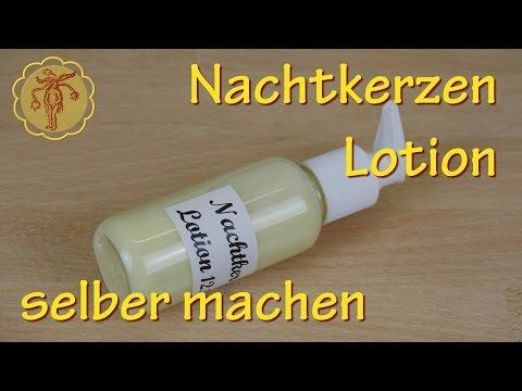 Nachtkerzen-Bodylotion selber machen - für trockene Haut und gegen Juckreiz