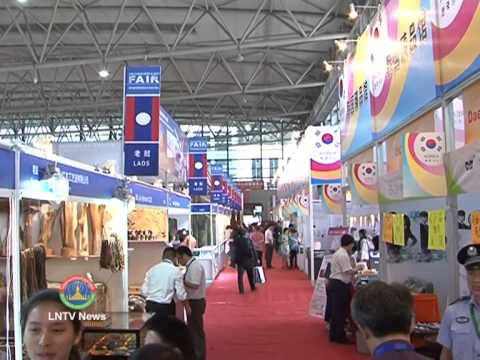 Lao NEWS on LNTV: The 2nd China-South Asia Expo & the 22nd China Kunming Import&Export.18/6/2014