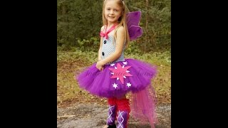 How to Make a Tutu Dress with Crochet Top (updated version)