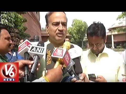 MPs Ananth Kumar & Mallikarjun Kharge Reacts On Assam NRC Issue | V6 News