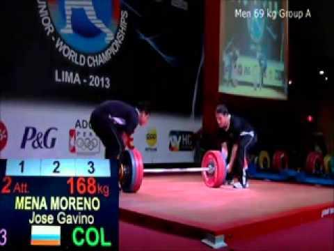 2013 Junior World Weightlifting 69 kg C+Jerk xvid
