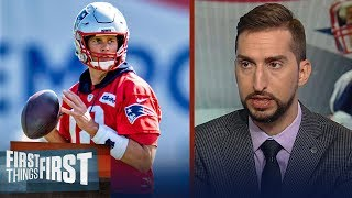 Tom Brady will not make his contract status a distraction - Nick Wright | NFL | FIRST THINGS FIRST