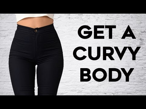 ❤️ How To Get A Curvy Body🍑   4 Exercises For The Ultimate Slim Curvy Body!
