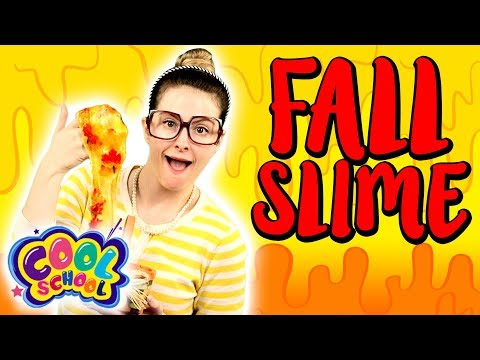 Fall Slime DIY! How to Make Fall Confetti Slime!   Arts and Crafts with Crafty Carol