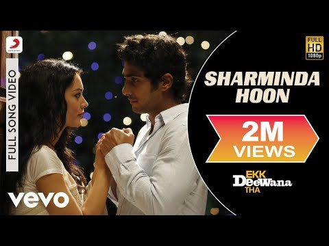 A.r. Rahman - Sharminda Hoon Video | Ekk Deewana Tha | Prateik video
