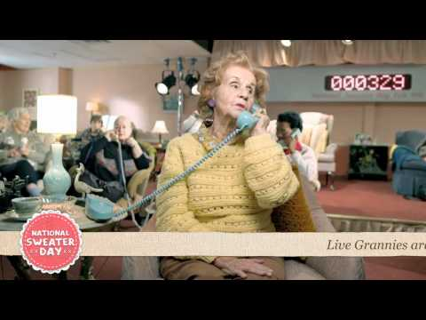 National Sweater Day: Granny Call Centre