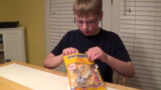 11-yr-old eats Hot Squid : Bizarre Food Review, Crude Brothers