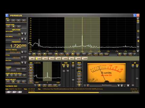 1720 kHz AM DX Pirate Undercover Radio discusses AM Band Medium Wave Operations