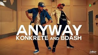 Chris Brown - Anyway ft Tayla Parx | #TMillyFreestyleSeries: Konkrete & Bdash | @chrisbrown