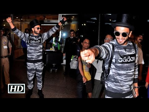 'Befikre' Ranveer Singh back from Europe to Mumbai