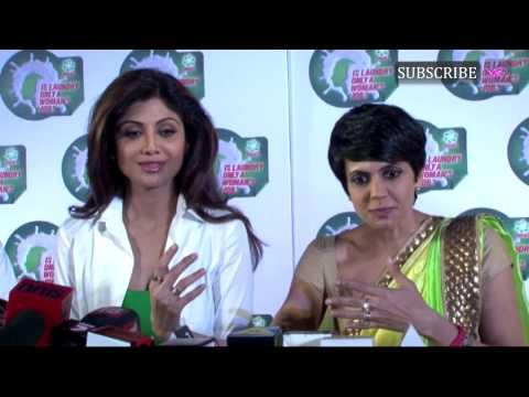 Shilpa Shetty, Neha Dhupia And Mandira Bedi During A Promotional Event | Part 3 video