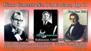 Chopin: Piano Concerto No. 1, Rubinstein & Skrowaczewski (1961) ショパン ピアノ協奏曲第1番 スクロヴァチェフスキ