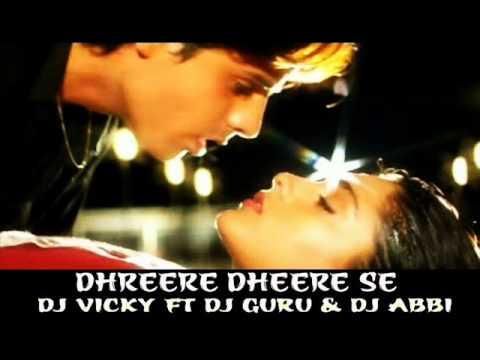 Dheere Dheere Se Rmx Dj Vicky Ft Dj Guru & Dj Abbi video