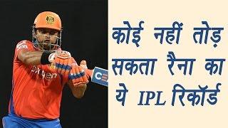 IPL 2017: Virat Kohli, ABD or Gayle can't break Suresh Raina this record | वनइंडिया हिन्दी