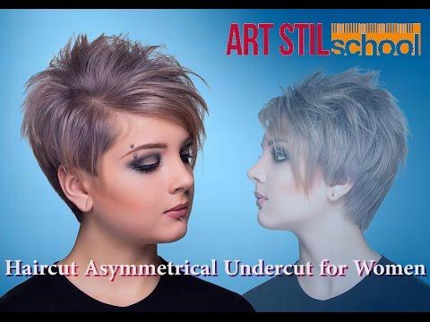 Haircut Asymmetrical  Undercut for Women