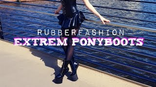 Lurina Lucrezia rubberfashion ponyboots
