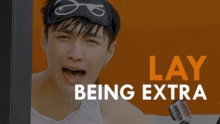 LAY being EXTRA