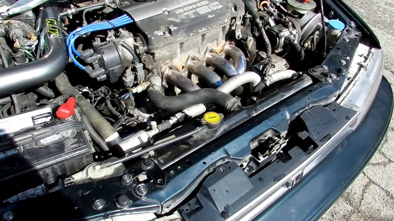 1993 Honda Accord Cb7 H22a 5 Speed Youtube