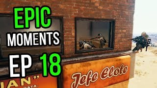 PUBG: Epic & Lucky Moments Ep. 18