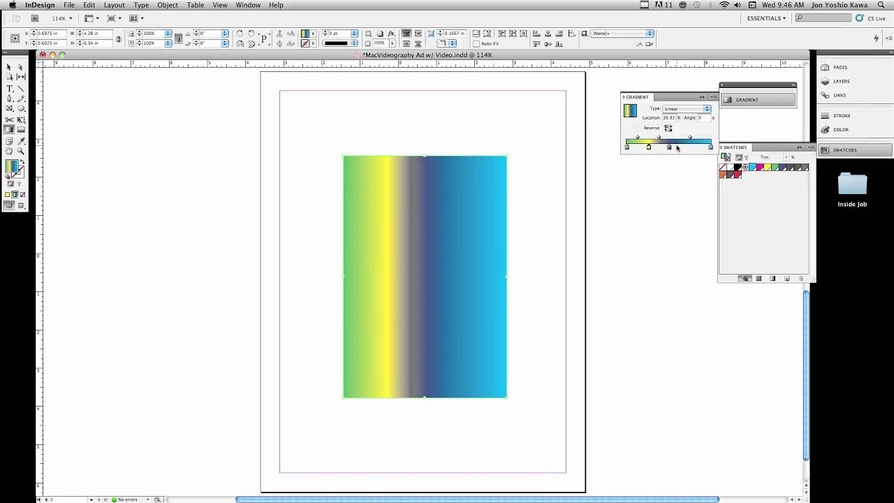 interactive pdf from indesign cs5