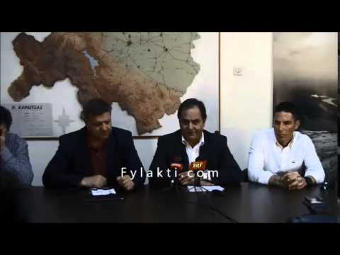 Συνέντευξη Τύπου Xterra Greece Καρδίτσα 1-4-15 Βασίλης Τσιάκος - Fylakti.com