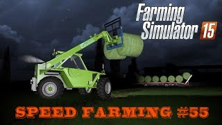 Farming Simulator 15 - Speed Farming #55 - Merlo Turbofarmer [Multiplayer]