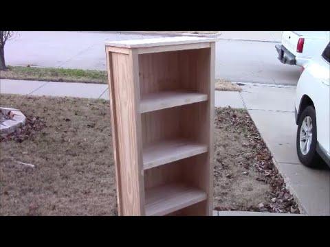 Ana White Kentwood Bookcase Build