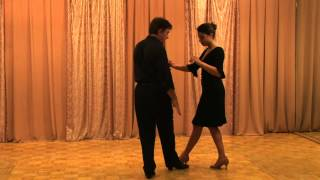 Argentine Tango beginner Lesson: Barrida, El Arrastre, The Drag, Sweep