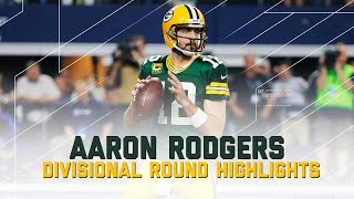 Aaron Rodgers Goes for 356 Yards & 2 TDs | Packers vs. Cowboys | NFL Divisional Player Highlights
