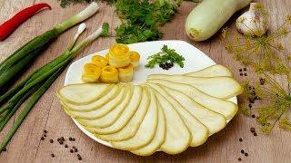 Маринованные кабачки с петрушкой - Рецепты от Со Вкусом
