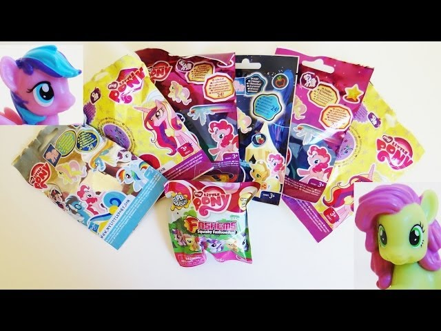 7 My Little Pony Blind Bags Unboxing