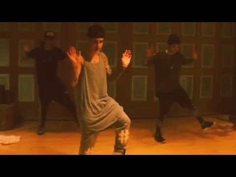 Justin Bieber Dances to NEW EDM Song?!