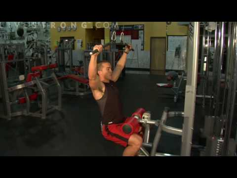 How to Do Lateral Pull downs Image 1