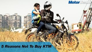 5 Reasons Not To Buy A KTM | MotorBeam