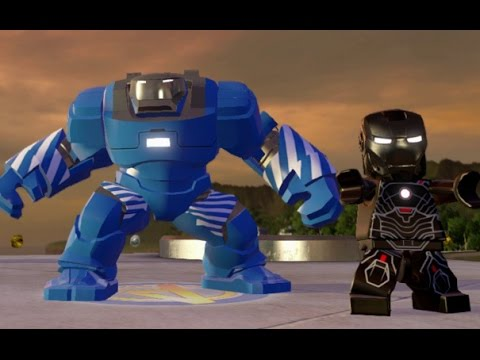 LEGO Marvel's Avengers - All Iron Man Suit-Up Animations ... Lego Iron Man 3 Suits