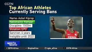 Top African athletes currently serving bans