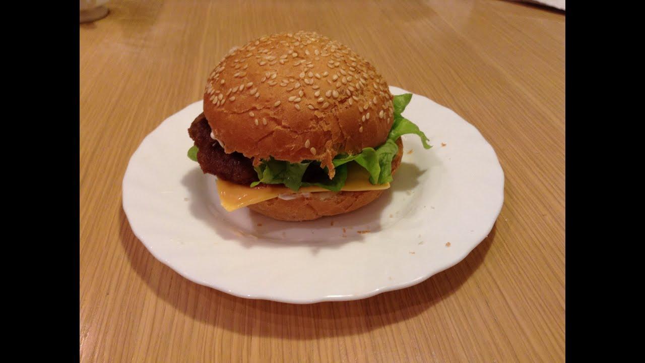 Гамбургер в домашних условиях рецепт фото как  13