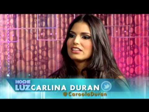 Carlina Duran - #CuerposHot2013 @CaroolaDuran @luzgarciatv Noche De Luz