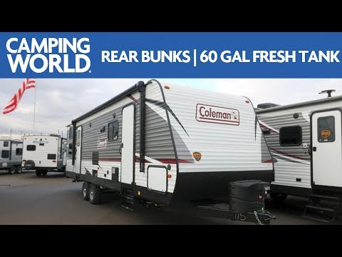 2019 Coleman Lantern 285BH | Bunkhouse Travel Trailer - RV Review: Camping World