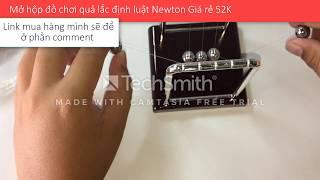 Review Đồ Chơi Quả Lắc Định Luật NewTon Size 9Cm US04384 Giá siêu rẻ 52K! Mua trên Lazada !!