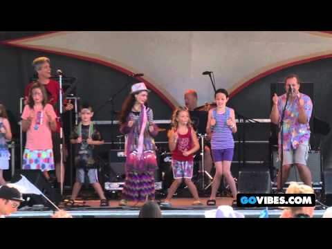 "Andy The Music Man Performs ""Tooty Ta"" at Gathering of the Vibes Music Festival 2012"