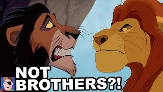 Mufasa And Scar Aren