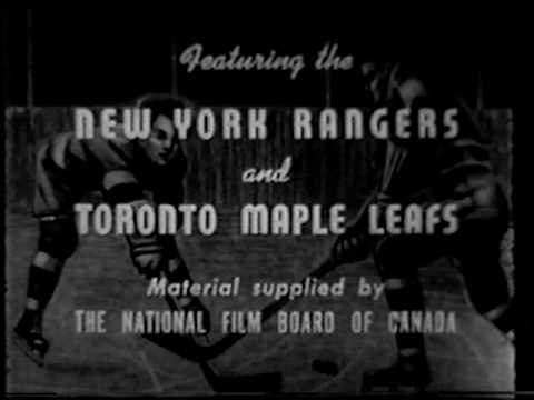 HOT ICE 1939 Toronto Maple Leafs vs New York Rangers Hockey