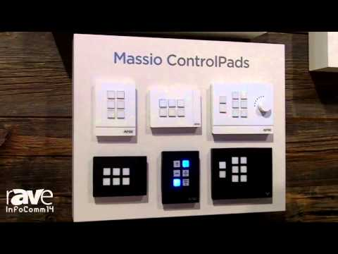 InfoComm 2014: AMX Launches Massio ControlPads for Small Classrooms and Conference Rooms