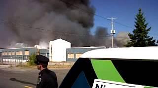 Gencorp fire in Welland