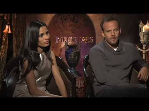 Freida Pinto & Stephen Dorff are Major Flirts - Celebrity Interview